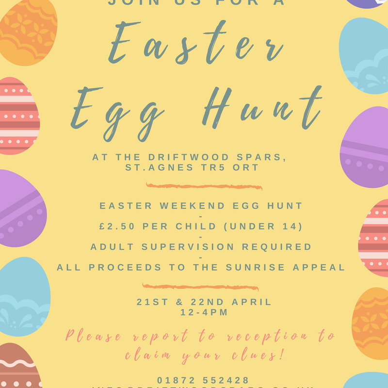 Drifty Easter Egg Hunt