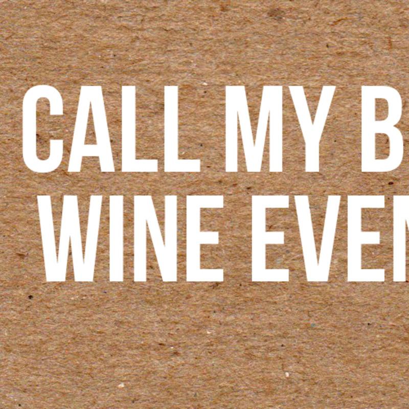 Call My Bluff Wine Evening