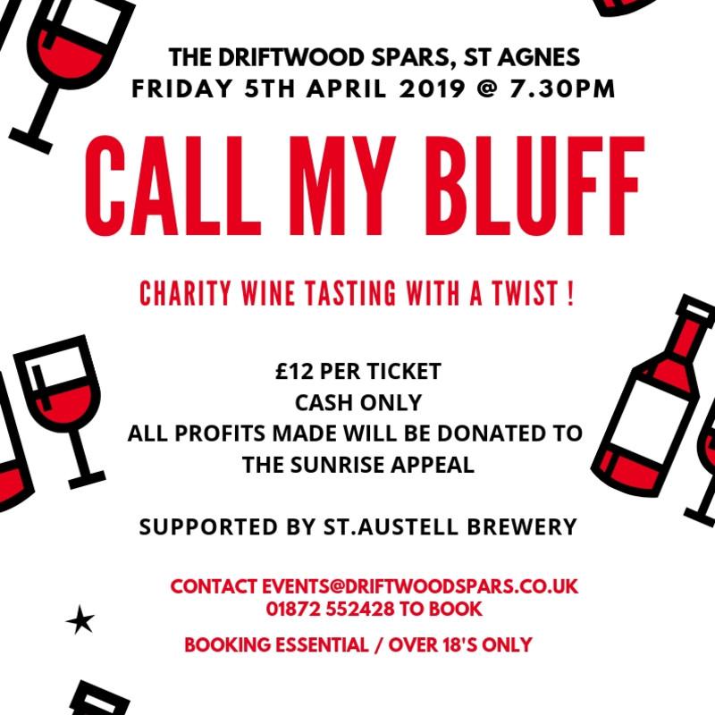 Call My Bluff Wine Night